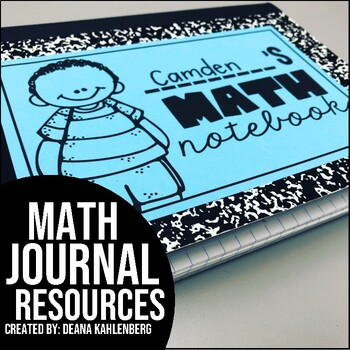 {Math Journals Resource Pack}
