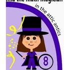 Math Learning Storybook - Mia the Math Magician in the Att