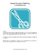 Math: Linear Equation Matching Cut-out Activity (linear fu