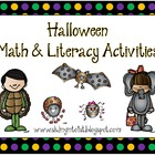 Math & Literacy Activities for Halloween
