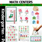 Math & Literacy Centers - Christmas