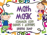 Math Magic Common Core Games and Activities Set 1