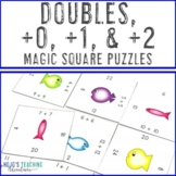 Math Magic Square -- Doubles +0 +1 +2