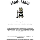 Math Maid: Math Properties