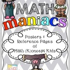 Math Maniacs- Posters and Reference Pages of Math Concept Kids