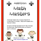 Math Masters Addition Challenge