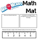 Math Mat Review Activity:  Airheads Candy