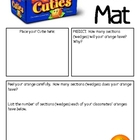 Math Mat Review Activity:  Clementine Cuties Oranges