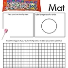 Math Mat Review Activity:  Dum Dums Lollipops