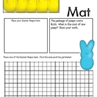 Math Mat Review Activity:  Easter Peeps
