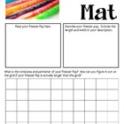 Math Mat Review Activity:  Freezer Pops