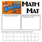 Math Mat Review Activity:  Runts Candy