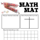 Math Mat Review Activity:  Smarties Candy