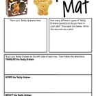 Math Mat Review Activity:  Teddy Grahams