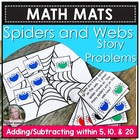 Math Mats Adding/subtracting within 20 Common Core 1.OA.1