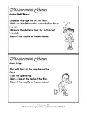 Math Measurement Task Cards/Games