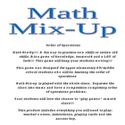 Math Mix Up: Order of Operations