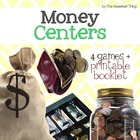 Math Money Center Pack and Flip Book Instruction Guide