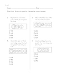 Math Money (counting change) pre-post assessment pages-ITBS style