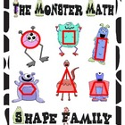 Math Monster Shape Family