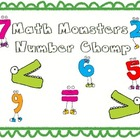 Math Monsters Number Chomp