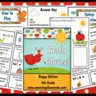 Math Movers Buggy Edition Math Review Game for Your Entire Class!