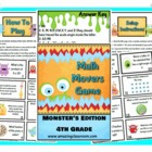 Math Movers Monster's Edition Review game for Your Whole Class!