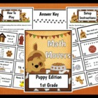 Math Movers Puppy Edition Math Review for your Entire Class!