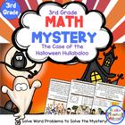 Math Mystery-Case of the Halloween Hullabaloo-Grade 3-CCSS