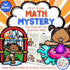 Math Mystery-Case of the Summer Slide-Grade 2-CCSS