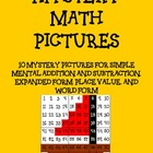 Math Mystery Pictures on a Hundreds Grid #1