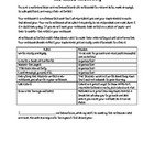 Math Notebooking Guidelines and Agreement