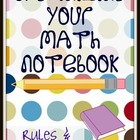 Math Notebooks Guidelines