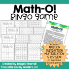 Math-O! A Mental Math Game