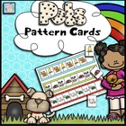 Math:  Pattern Cards for Preschool and Kindergarten