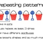 Math Pattern Posters