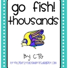 Math Place Value Go Fish Center (thousands)