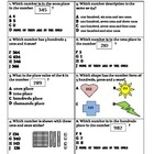 Math: Place Value through the hundreds Assessment & Study Guide