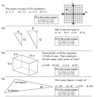 Math Pretest: Middle School (5 areas)