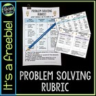 Math Problem Solving Rubric:  Standards for Mathematical Practice