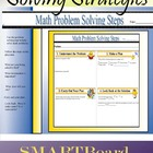 Math Problem Solving Strategy Placemat Smartboard File