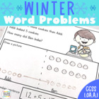 Math Problem Solving for January (First Grade 1.OA.1)