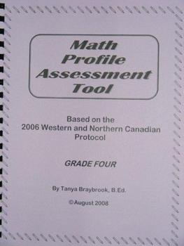 Math Profile Assessment Tool -- Grade 4