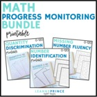 Math Progress Monitoring BUNDLE!