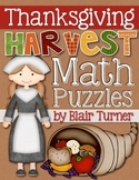 Math Puzzles: Thanksgiving Harvest