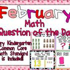 Math Question of the Day- Kindergarten Common Core for February