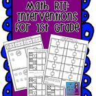Math RTI: Interventions for First Grade