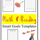 Math & Reading S.M.A.R.T. Goal Templates