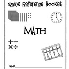 Math Reference Booklet