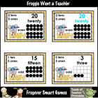 Math Resource -- Cheesy Math Number Wall Headers/Posters